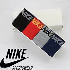 Nike 4 Pcs Seamless Mens Dri-fit Boxer Shorts Underwear Multicolor
