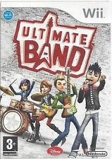 ULTIMATE BAND for Nintendo Wii - with box & manual  - manual in FRA and NL