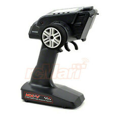 Sanwa MX-V 3Channel 2.4Ghz FH2 Radio RX-37W Waterproof Receiver Car #101A30874A