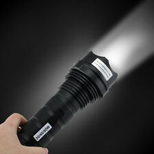 4000 Lumens 50W HID Xenon Flashlight Torch Light Zoomable Waterproof Shockproof