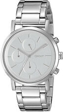 DKNY NY2273 Soho Silver Dial Stainless Steel Chronograph Women's Watch