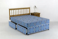 Double Divan Bed + Mattress 4ft 6in Tanya 4 Drawer Set
