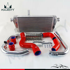 Upgrade Front Mount Intercooler Kit for Audi A4 1.8T Turbo B6 Quattro 02-06 Red