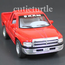 Kinsmart Dodge Ram 1500 4x4 Pick Up Truck 1:44 Diecast Toy Car Red