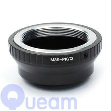 Leica M39 Screw Lens to Pentax Q Mount PQ P/Q Camera Adapter Ring For Q10 Q7