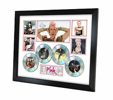 PINK Signed photo Music Memorabilia Limited Edition of 250 & FRAMED B