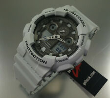 Ice Gray Casio G-Shock Ana-Digi XL Watch GA100LG-8A