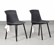2x Cassina Stuhl Motek anthrazit  Design Luca Nichetto