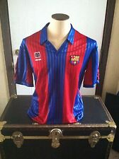 VTG 89-92 Meyba FC Barcelona Jersey Sz L - Wembley 92 Cruyff Dream Team Era