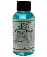 Dark Blackener For Brass, Bronze, Copper, Tin, Iron, Etc 2 oz By Jax
