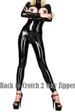 CATSUIT GANZANZUG OVERRALL LACK LEDER WETLOOK CLUBWEAR GOGO TABLE