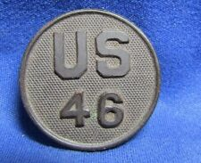 WWI 46th Infantry Regiment or Field Artillery Enlisted Collar Disc
