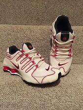 Nike Shox NZ Women's Size 7 Pink White Black Running Sneakers EUC