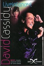 DAVID CASSIDY - LIVE IN CONCERT rare dvd 20 Songs videos 2002
