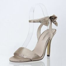 Women's Shoes Essence Menbur Milan Satin Sandal Size 37 / US 7 M NEW