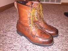 Rare Vintage Field & Stream Boots (Red Wing Irish Setter Style), Men's 8 D, USA