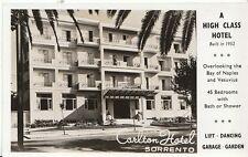 Italy Postcard - Carlton Hotel - Sorrento   V1850