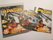 PLAYSTATION 3 PS3 GAME APACHE AIR ASSAULT +BOX & INSTRUCTIONS COMPLETE PAL VGC