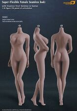 Phicen 1/6 figure female seamless body  S09C Big breast  Skeleton suntan toy