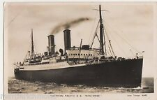 Canadian Pacific S.S. Montrose Shipping Real Photo Postcard, B570