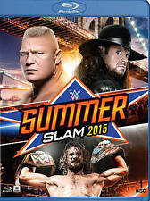WWE: Summerslam 2015 (Blu-ray Disc, 2015) BRAND NEW FREE SHIPPING Brock Lesnar
