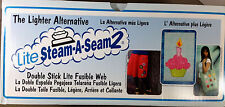 "STEAM A SEAM 2 LITE Fusible Web - 2-sided, 12"" wide sold by the yard applique"