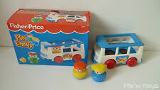 ►►►► Fisher-Price Vintage / FP Play Family Minibus Mini Van 2359