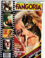 Fangoria No 39 1984 The Makeup FX Of V Cover - Amityville 3-D  Pull Out Poster !