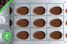 Grenada-CHOCOLATE scented DELICACIES SHEETLET 1