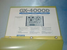 AKAI 4000D  REEL TO REEL TAPE DECK  OPERATOR'S MANUAL SAME DAY SHIPPING