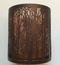 YANKEE CANDLE TWILIGHT SILHOUETTES VOTIVE TEALIGHT HOLDER SOLD OUT HTF ITEM