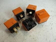 BMW E32 E34 E36 E39 E28 E23 E30 Relais orange 5 Stück Bosch 0332014456