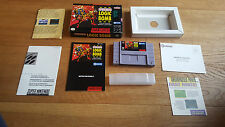 Operation Logic Bomb US SNES Super Nintendo NTSC m. OVP, Anleitung, CIB