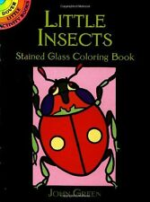 Coloring Book for Adults Small Page Insect Painting Anti Stress Activity Relax