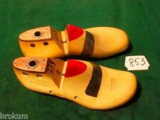 Pair Wood Size 5EE AUBURN Last Co Maple Shoe Factory Industrial Last #853
