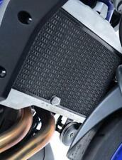R&G BLACK RADIATOR GUARD for YAMAHA MT-07, 2014 to 2017