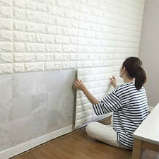 Brick Waterproof Wall Sticker Self-adhesive Panel Decal Wall Sticker Embossed 3D