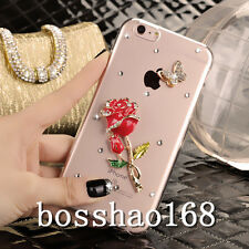 Bling Crystal Gem Diamonds Thin Clear Soft TPU Back Shell Case Cover For Lenovo