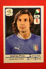 Panini EURO 2012 N. 325 ITALIA PIRLO  NEW With BLACK BACK TOPMINT!!