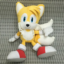 GENUINE SONIC THE HEDGEHOG TAILS SEGA Game Soft Plush Figure Doll Toy 8 inch