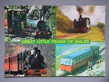 R&L Postcard: Great Little Trains of Wales, J Salmon, Tal-y-llyn/Rheidol......