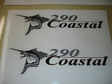 Wellcraft Coastal 290 Fishing Boat Decal Set