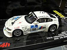 BMW Z4 M Coupe 24h Nürburgring 2007 #50 Stuck Hürtgen Schubert Minichamps 1:43