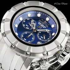 Invicta Men's 54mm S1 Rally Blue Dial Chronograph Stainless Steel Bracelet Watch