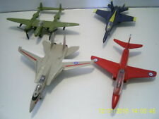 Lot of 4 Diecast Metal Planes/Jets in Excellent Condition!!! ***FINAL SALE!***