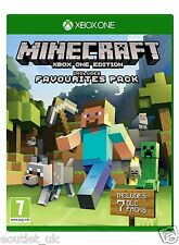 Minecraft Game for Xbox One 1 beinhaltet Favorites Packung neu & OVP S UK PAL