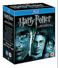 Harry Potter: The Complete 8-Film Collection (Blu-ray 11-Disc Set) VG2LB