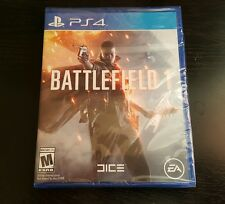 Battlefield 1 (PLAYSTATION 4, PS4 2016) Brand New Factory Sealed..