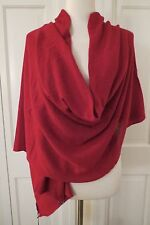 Lovely Beryll Large Cashmere Wrap/Scarf – NWT– Chianti -- Deep Red/Burgundy $565