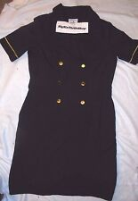 Vintage CONTINENTAL AIRLINES Stewardess UNIFORM DRESS SIZE 8 R